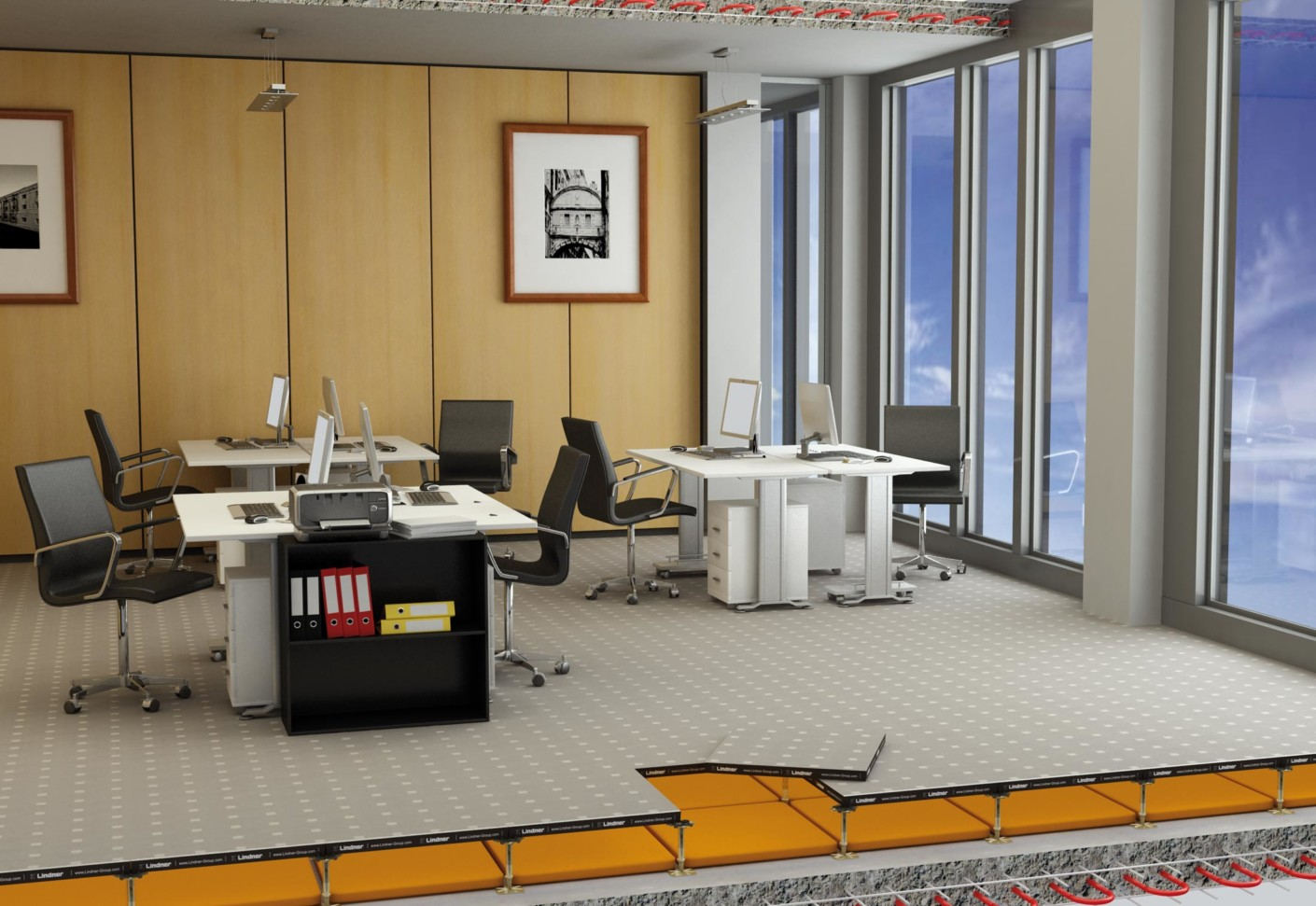 Floor and more acoustic von lindner group stylepark for Floor and more