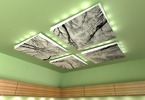 Helix Floating Ceiling Panel By Lindner Group | Stylepark