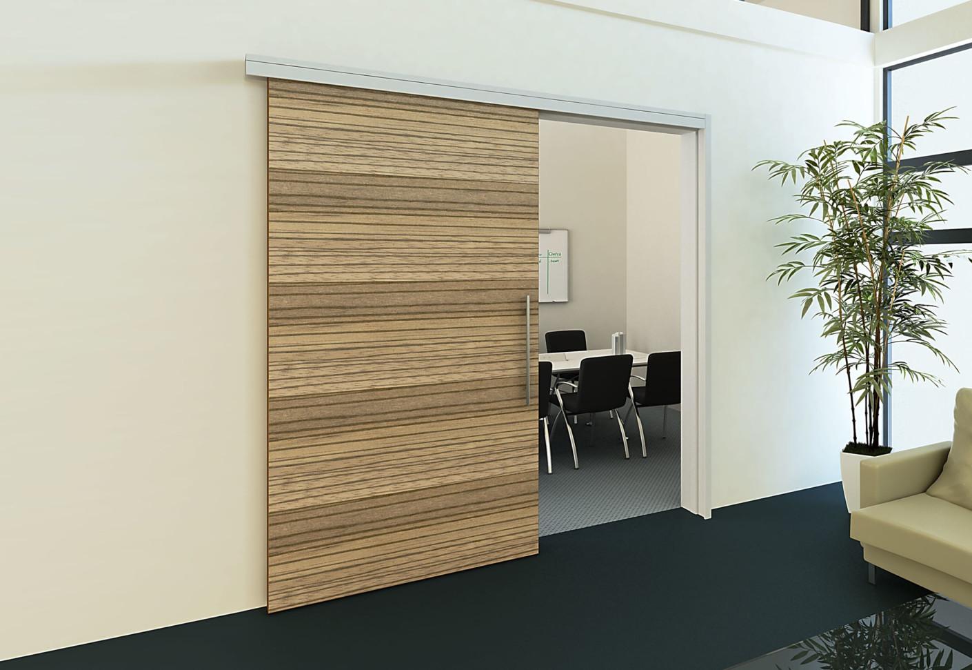 Elegant Soundproof Interior Sliding Doors Saudireiki