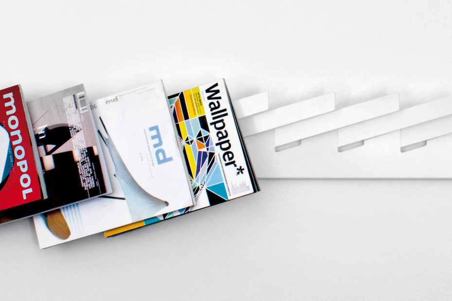 linea1 mr magazine rack