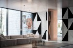 Brezza | FILO 10 Vertical Pivot Door  by  LINVISIBILE