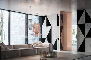 Brezza | FILO 10 Vertical Pivot Door  by  LINVISIBILE
