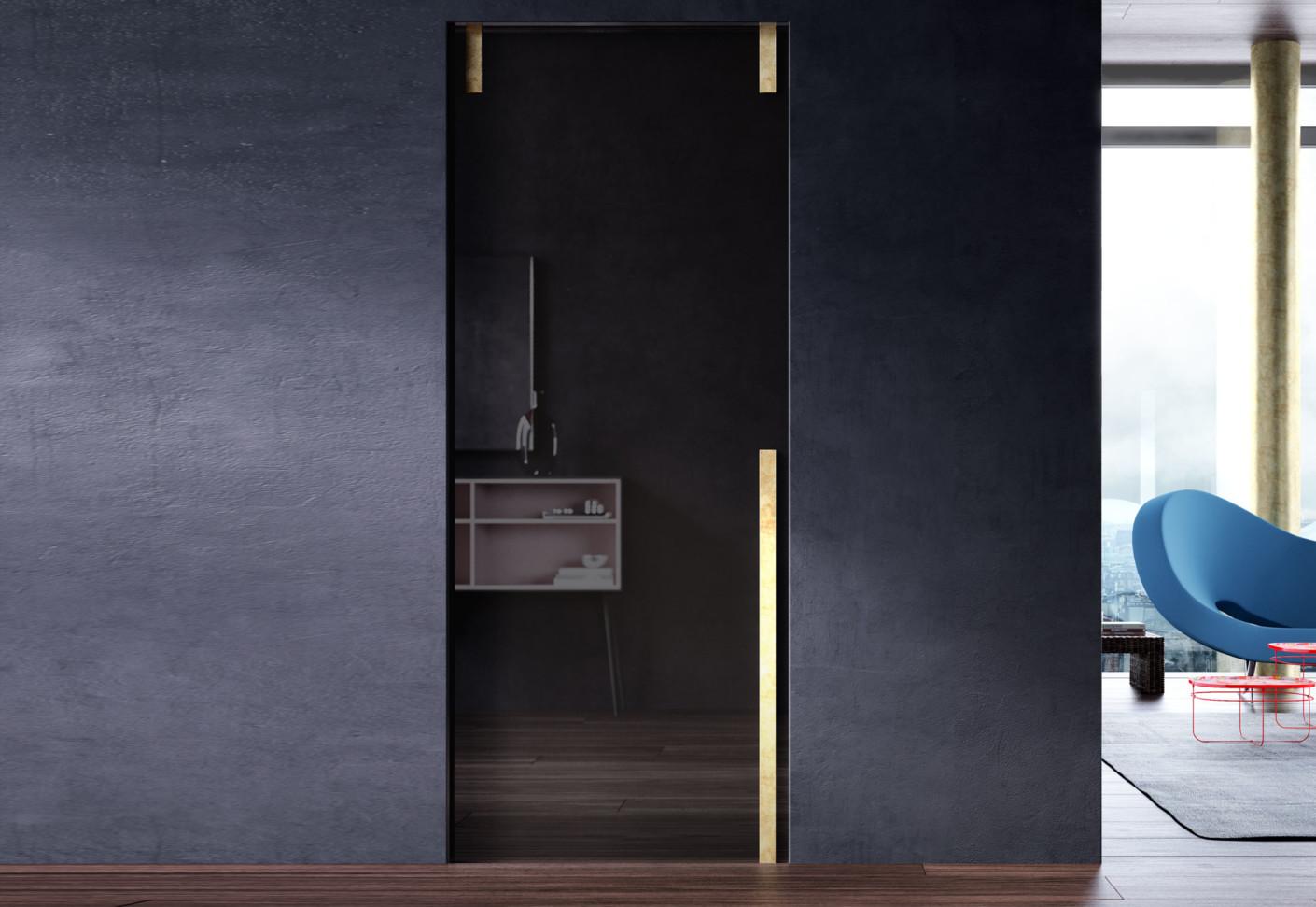 marea in der wand laufende schiebet r von linvisibile. Black Bedroom Furniture Sets. Home Design Ideas