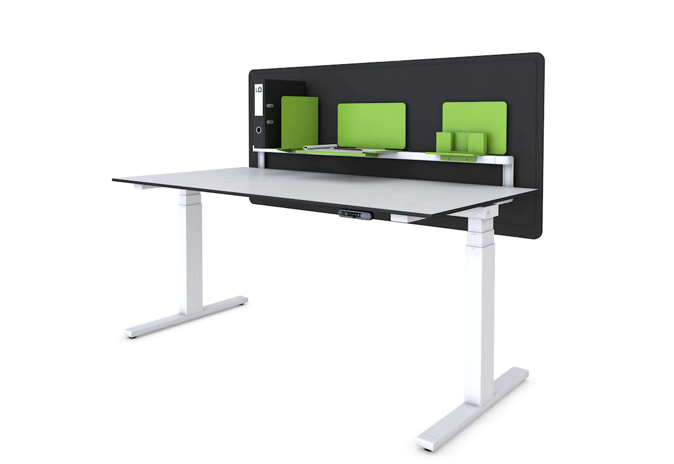 Lo Extend Work Table By Lista Office Lo Stylepark