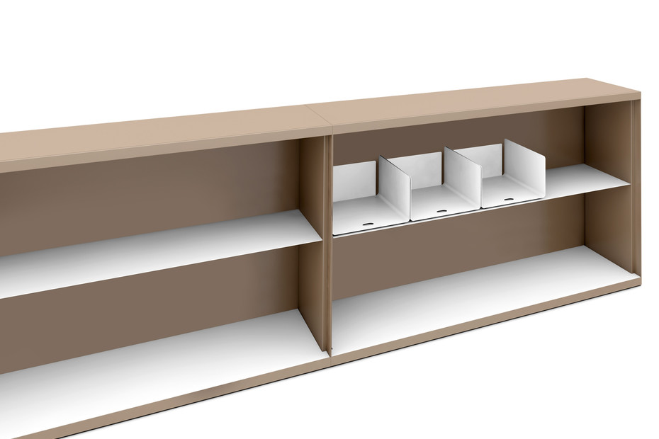LO One open-front cabinet