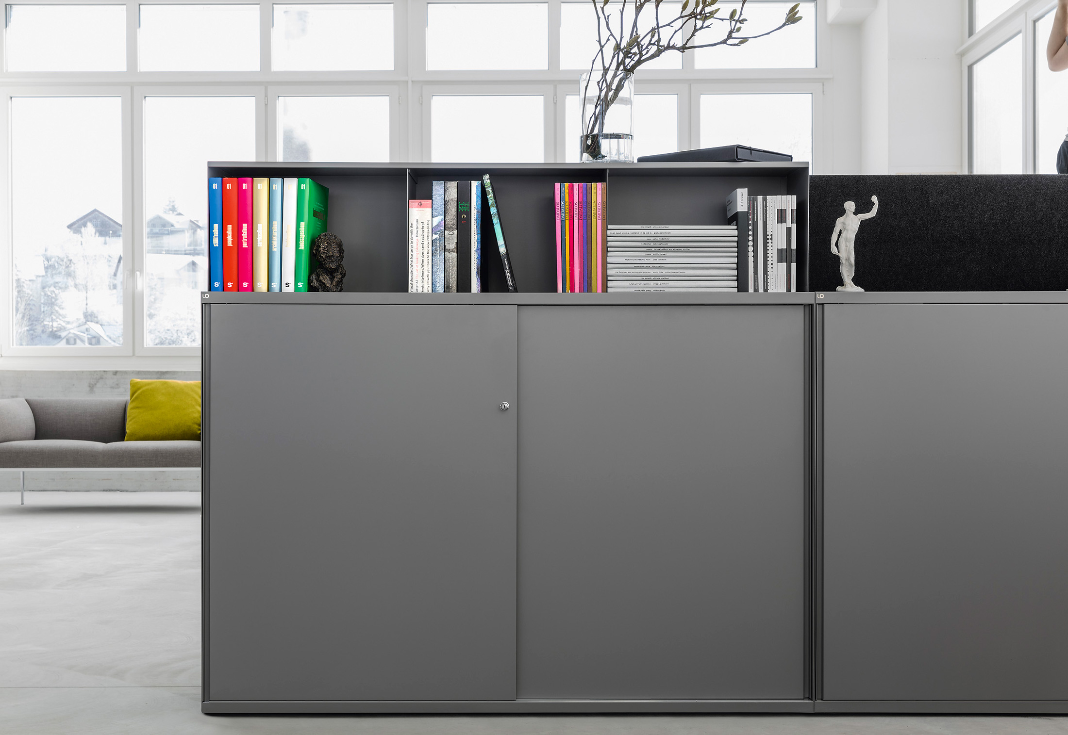 Lo One Sliding Door Cabinet By Lista Office Lo Stylepark