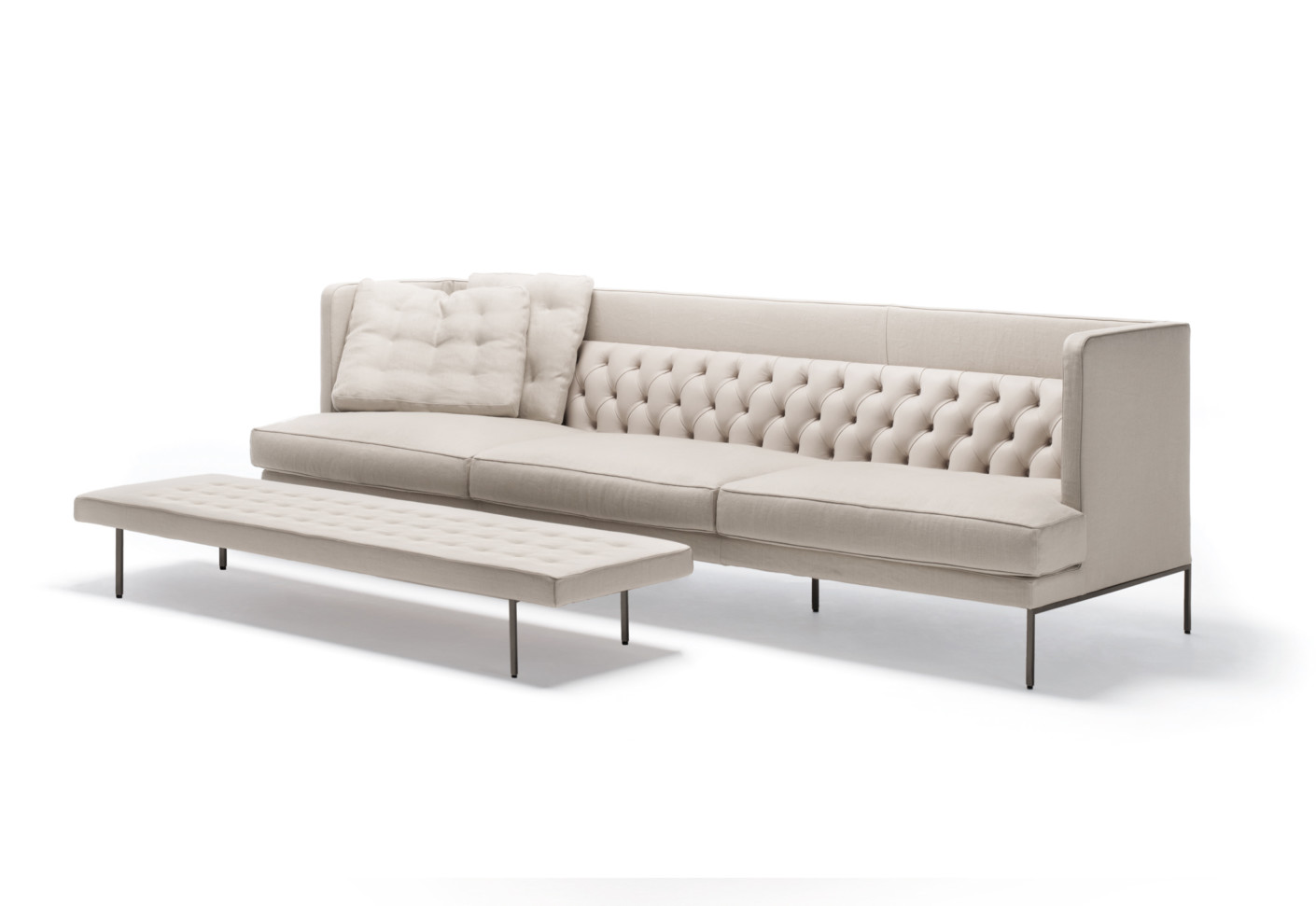 lipp sofa von living divani stylepark. Black Bedroom Furniture Sets. Home Design Ideas
