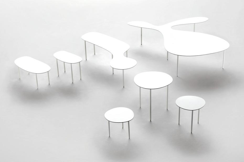 Long Shape Side table