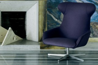 Reader lounge armchair  by  Living Divani