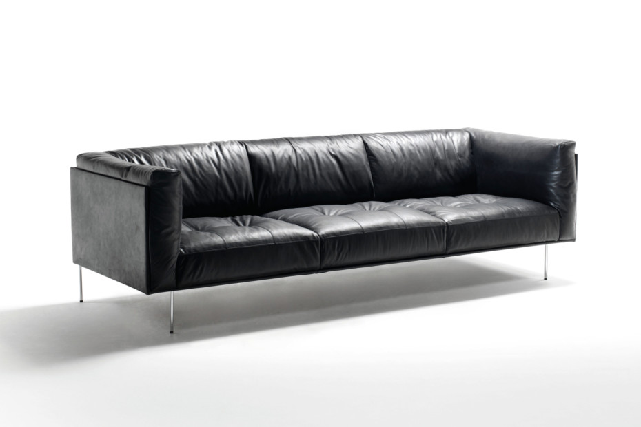 Rod Leder Sofa