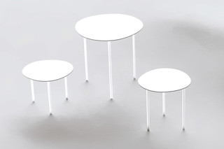 Round Shape Side table  by  Living Divani