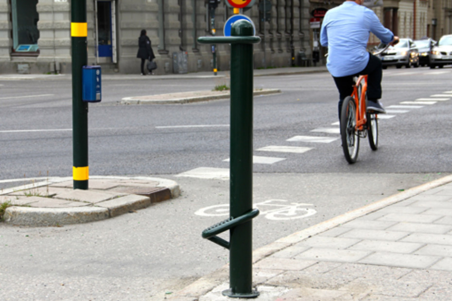 Biker's Rest bicycle stand