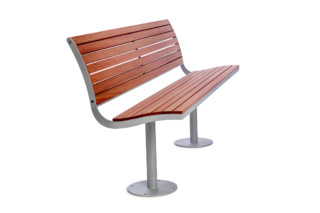 Parco wooden bench  by  Nola