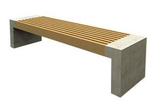 Paxa bench  by  Nola