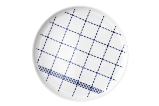 Mormor Blue plate large  by  Normann Copenhagen