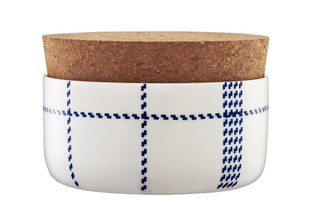 Mormor Blue sugar bowl  by  Normann Copenhagen