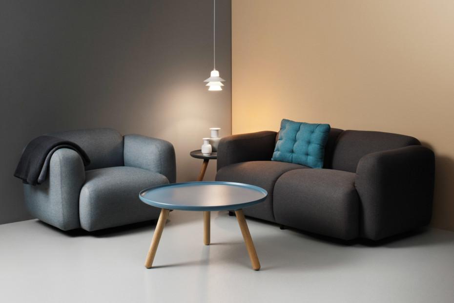 Swell armchair