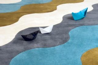 Les Vagues Du Mer  von  Now Carpets