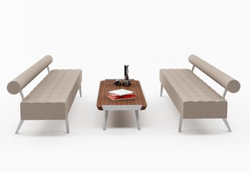 greta bank mit r ckenlehne von nurus stylepark. Black Bedroom Furniture Sets. Home Design Ideas