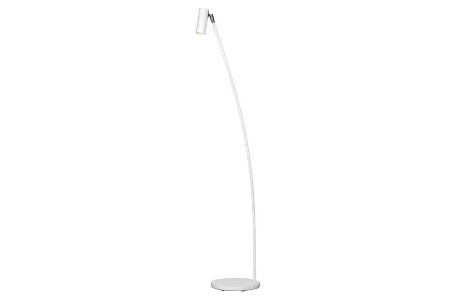 Puck floor lamp