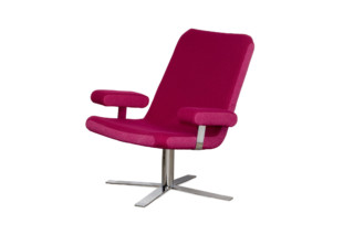 Boris easychair with armrests  by  Palau