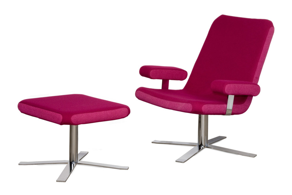 Boris easychair with armrests