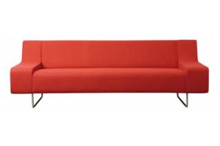 Brown sofa  by  Palau