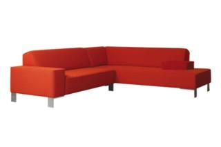 Finch Metal corner sofa  by  Palau