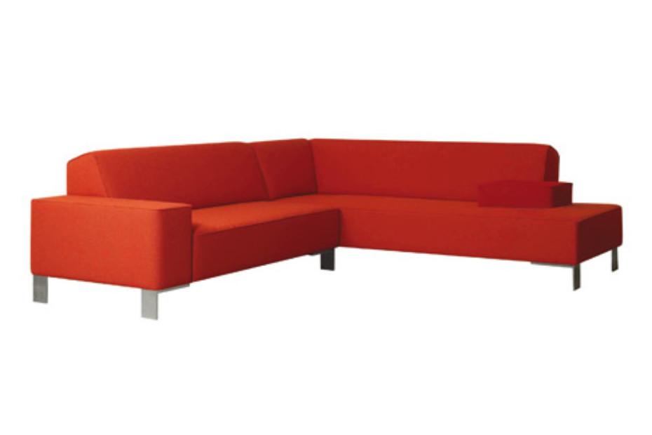 Finch Metal corner sofa