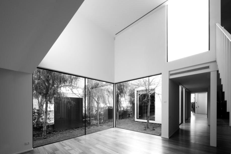Glasschiebefenster, F3 House