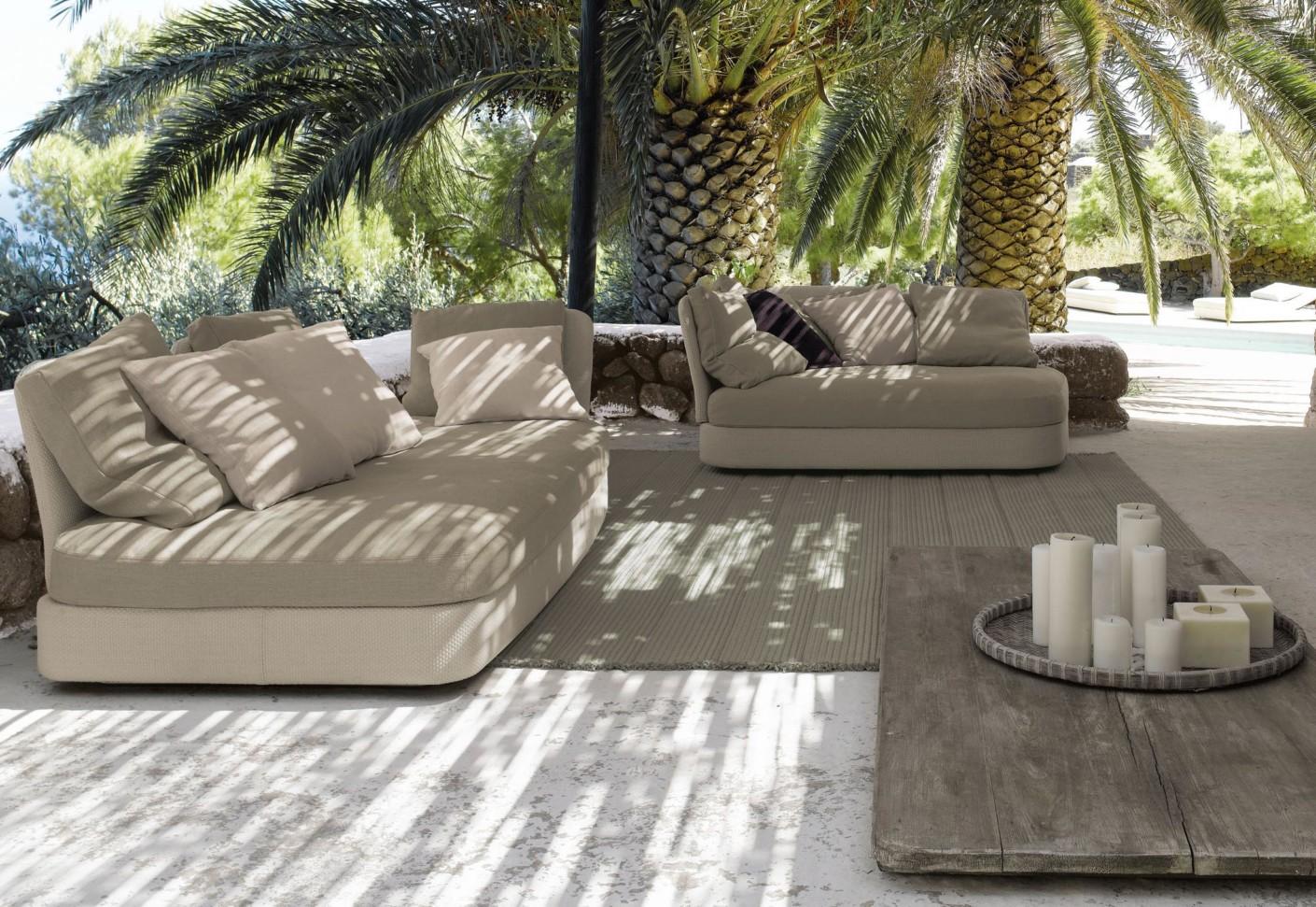 Cove sofa by paola lenti stylepark for Terrazas con sofas