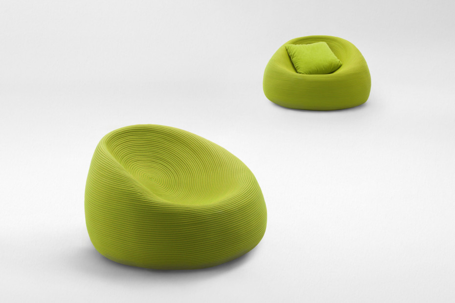 otto sessel von paola lenti stylepark. Black Bedroom Furniture Sets. Home Design Ideas