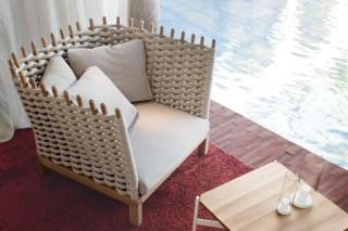 Wabi Easy chair  by  Paola Lenti