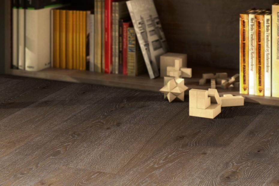 Eco Balance Basalt Oak block 3-plank