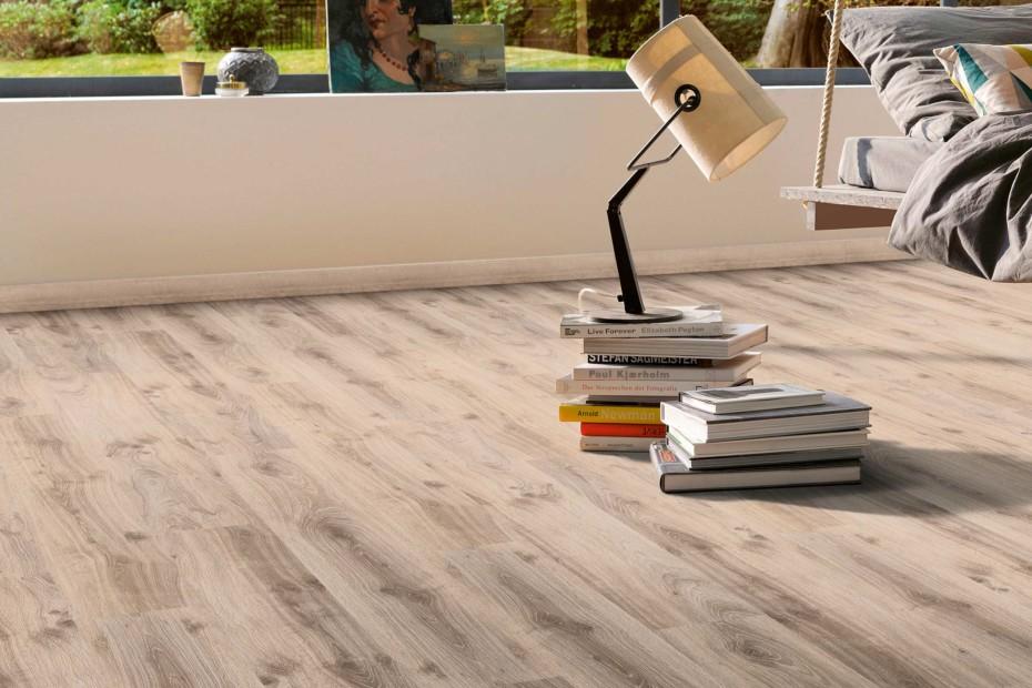 Laminat Classic 1050 oak tradition grau beige plank