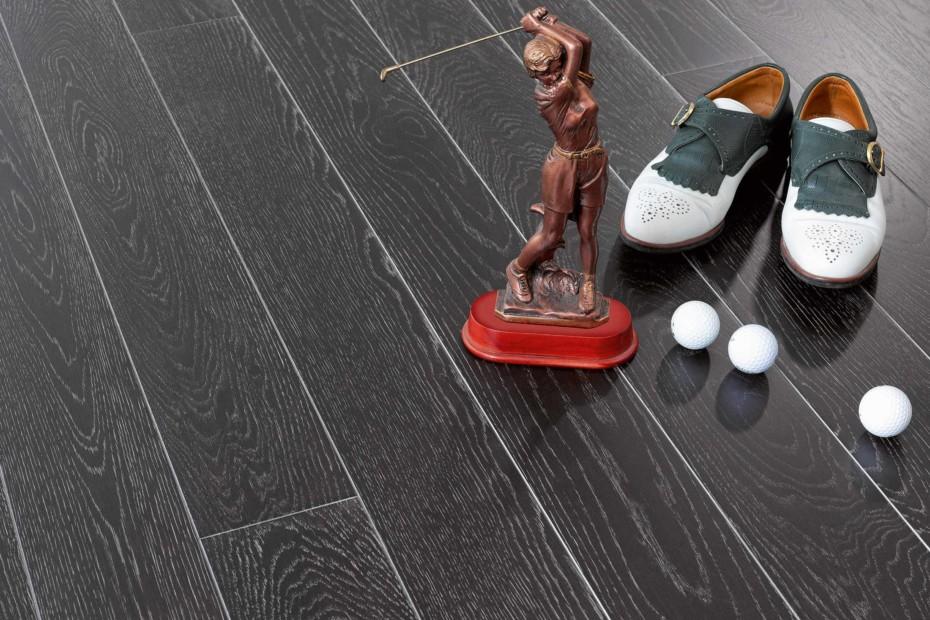 Parkett Trendtime 1 oak noire silver