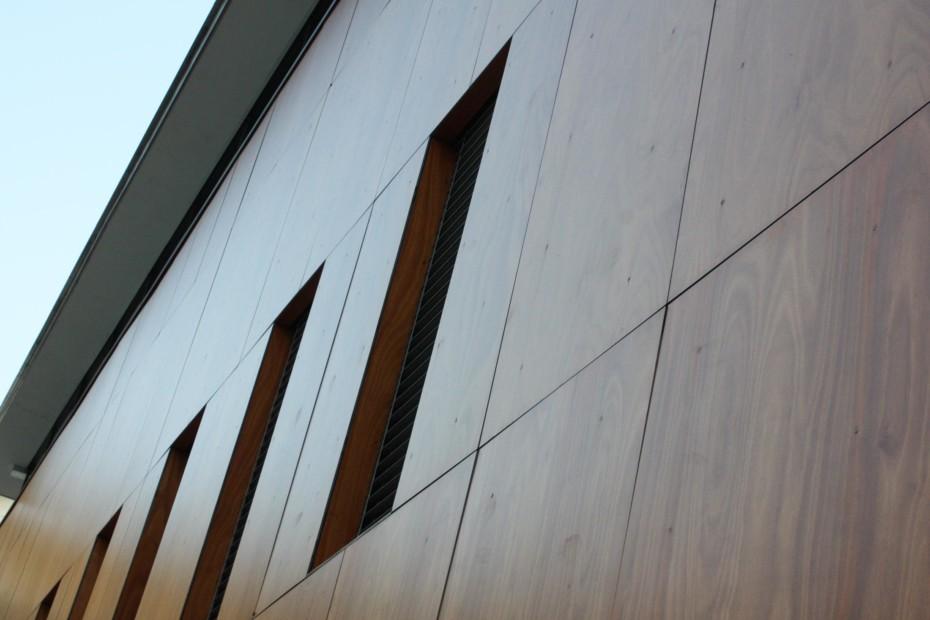 Parklex Facade, Gymnasium and school Assembly Hall