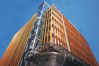 Parklex Facade, Metro Hotel  by  Parklex