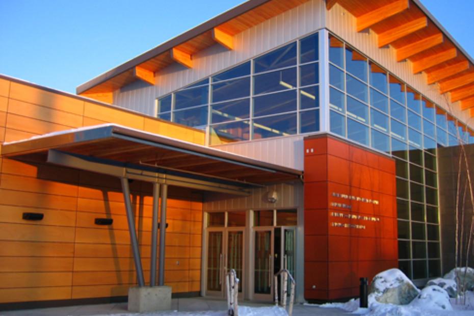 Parklex Facade Morris Thompson Cultural Visitors Center