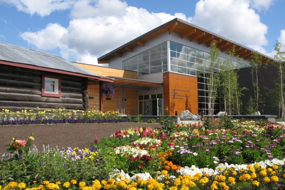 Parklex Facade, Kultur- und Besucherzentrum Morris Thompson