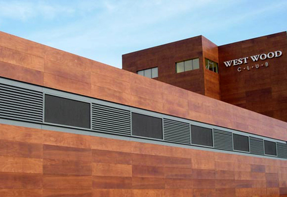 Parklex Facade, Westwood Health Centre