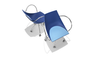 Koop on wheels with armrests  by  Parri