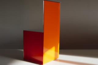 Acrylic chair  by  Paul Kelley