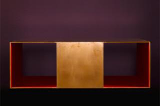Copper Coffee Table  by  Paul Kelley