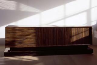 Macassar ebony sideboard bar  by  Paul Kelley