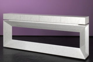White Console  by  Paul Kelley