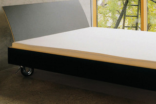 bed on casters  by  performa