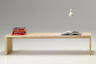 solid wood bench  by  performa