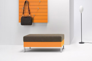 upholstered bench b3  by  performa