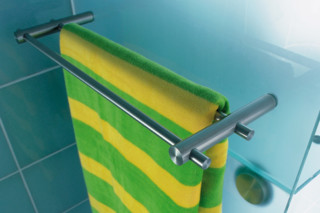 Towel rial with glas fixing SH 20-140 D  by  PHOS